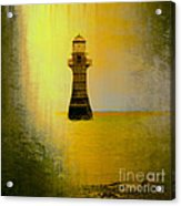 Vintage Whiteford Lighthouse Acrylic Print