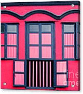 Vintage Windows Acrylic Print by William Voon