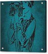 Vintage Women Color Art 18 Acrylic Print