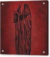 Vintage Women Color Art 27 Acrylic Print