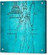 Vintage Women Color Art 84 Acrylic Print