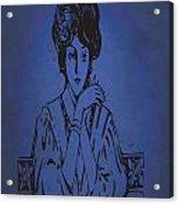 Vintage Women Color Art 86 Acrylic Print
