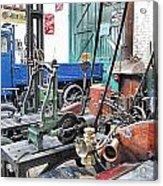 Vintage Workshop In Colour Acrylic Print