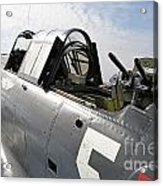 Vintage World War II Dive Bomber Acrylic Print