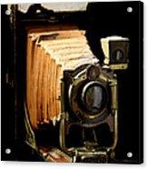 Vintaged Canadian Kodak Camera Acrylic Print