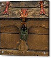 Vintge Strong Box Acrylic Print