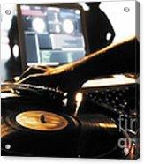 Vinyl Record Acrylic Print