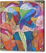 Viola Acrylic Print