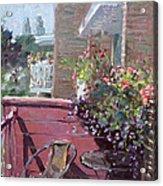 Viola's Balcony Acrylic Print
