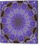 Violet Garden Acrylic Print