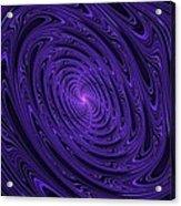 Violet Vortex-3 Acrylic Print