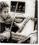 Violin Ensemble Acrylic Print