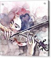 Violin Prelude Acrylic Print