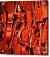 Violin Sculpture  Acrylic Print