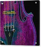 Violin Viola Body Photograph In Digital Color 3265.03 Acrylic Print