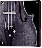 Violin Viola Body Photograph Or Picture In Sepia 3265.01 Acrylic Print