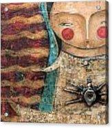 Virgen De Guadalupe Acrylic Print by Thelma Lugo