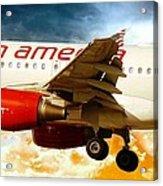 Virgin America A320 Acrylic Print