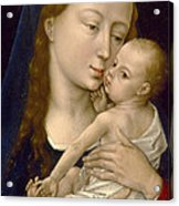 Virgin And Child Acrylic Print