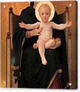 Virgin And Child Acrylic Print