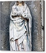 Virgin Mary With Child Acrylic Print by Olivier Le Queinec