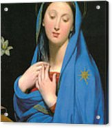 Virgin Of The Adoption Acrylic Print
