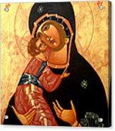 Virgin Of Vladimir Acrylic Print