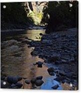 Virgin River Narrows Acrylic Print