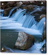 Virgin River Rapids Acrylic Print