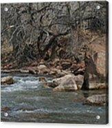 Virgin River Zion Park Acrylic Print