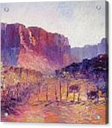 Virgin Valley View Acrylic Print