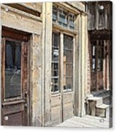 Virginia City Storefronts Acrylic Print