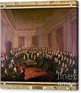 Virginia Convention 1829 Acrylic Print