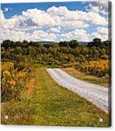 Yesterday - Virginia Country Road Acrylic Print