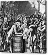 Virginia Loyalists, 1774 Acrylic Print