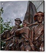 Virginia Memorial At Gettysburg Acrylic Print