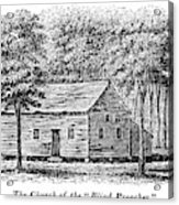 Virginia Rural Church Acrylic Print