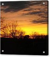 Virginia Sunset Acrylic Print