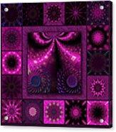 Virulent Lightwaves Redux  Acrylic Print