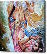 Vishwamitra Menaka Acrylic Print