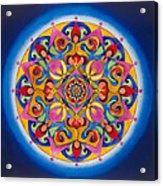 Vision - Brow Chakra Mandala Acrylic Print
