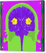 Vision Flowers In The Brain Acrylic Print