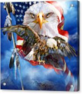 Vision Of Freedom Acrylic Print