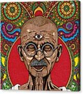 Visionary Gandhi Acrylic Print