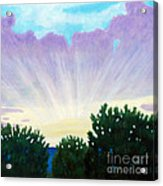 Visionary Sky Acrylic Print by Brian  Commerford
