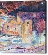 Visions Of Mesa Verde Acrylic Print