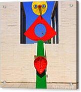 Visions Of Miro Acrylic Print