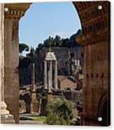 Visions Of Rome Acrylic Print
