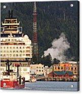 visit Alaska Acrylic Print