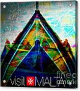 Visit Malta Acrylic Print